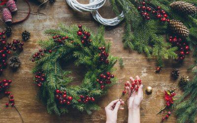 Traditional Christmas Wreath Workshop – Duncan, Nov. 28th