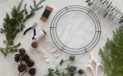 Traditional Christmas Wreath Workshop – Comox, Dec. 5th